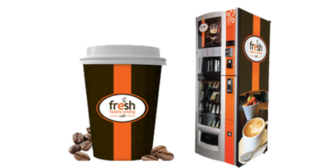 Fresh Coffee Vending Machine - Vending Machine Products, Utah - Sitka Vending